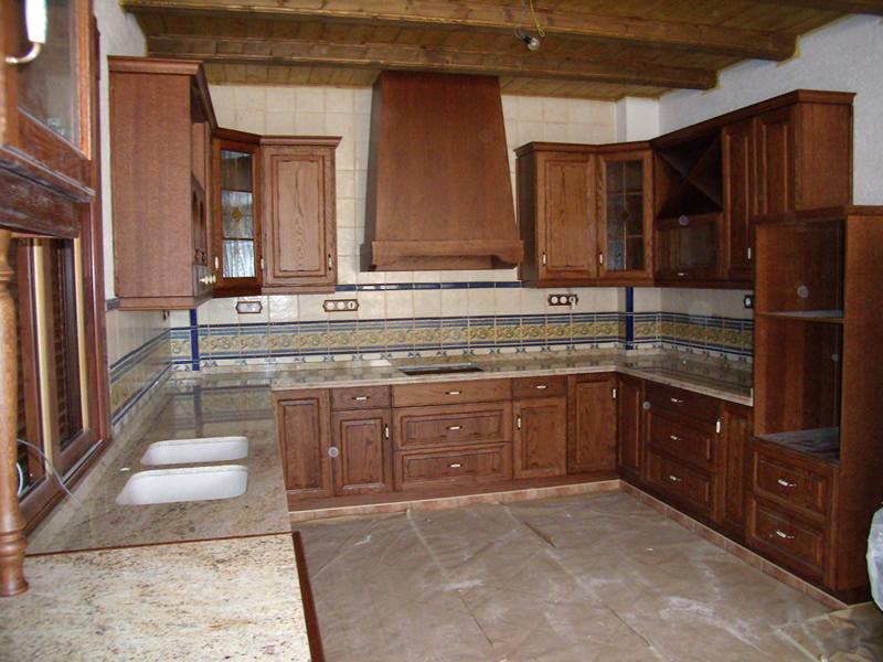 Cocinas r sticas en benij far cocina a medida en benij far - Disenos de cocinas rusticas ...