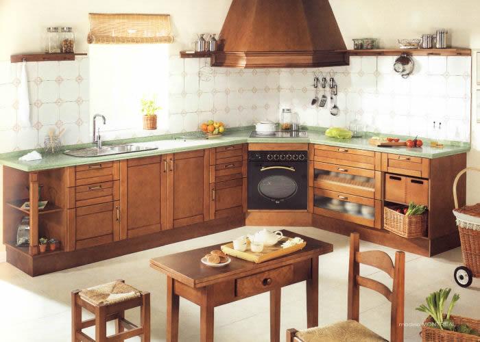 Cocinas r sticas en benij far cocina a medida en benij far for Muestrario cocinas